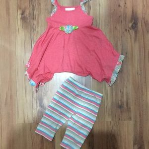 Bonnie baby 2piece toddler outfit